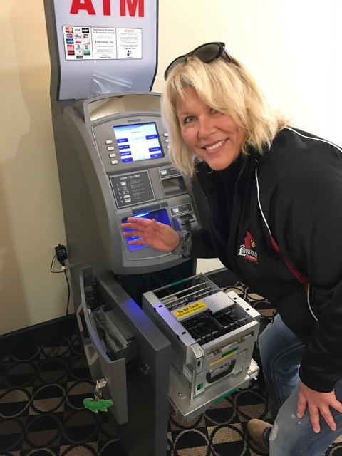 Servicing an ATM in Louisville